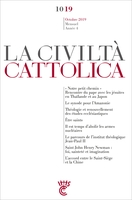 Civilta cattolica - octobre 2019