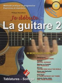 Je debute la guitare + cd vol 2