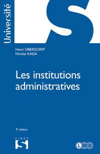 Les institutions administratives - 9e ed.