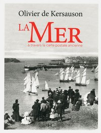 La mer à travers la carte postale ancienne