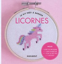 Kit point de croix licorne