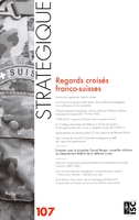Revue Strategique N 107 - Regards Croises Franco-Suisses