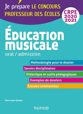 Education musicale - oral / admission - crpe 2020-2021