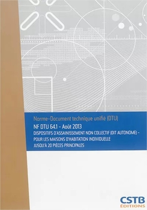 Nf dtu 64.1 dispositifs d'assainissement non collectif (dit autonome)