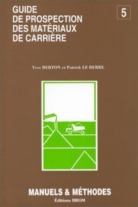 Prospection materiaux carriere