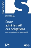 Droit administratif des obligations - 1re ed.
