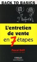 Pascal Davi, Gabs - L'entretien de vente en 7 étapes