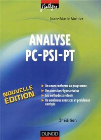 Analyse - PC-PSI-PT