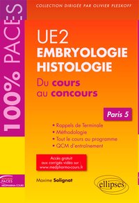 Ue2 - embryologie-histologie (paris 5)
