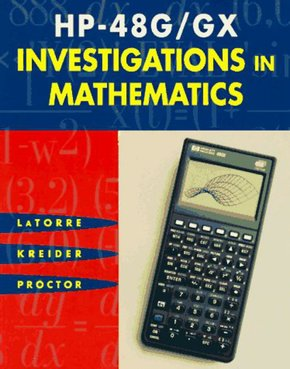 HP 48g/GX Investigations in Mathematics