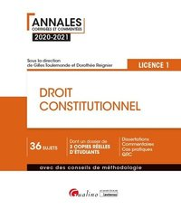 Droit constitutionnel - Licence 1