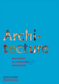 Architecture - Description et vocabulaire méthodique