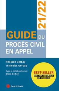 Guide du procès civil en appel - 21/22