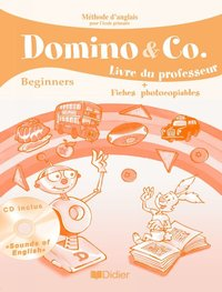Domino and co beginners - guide pédagogique - version papier + cd sons