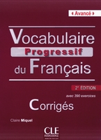 Vocabulaire progressif du francais avance 2ed corriges + cd