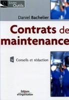 Daniel Bachelier - Contrats de maintenance
