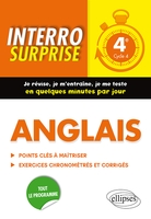 Interro surprise - Anglais 4e