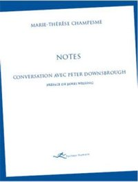 Conversation avec peter downsbrough