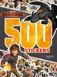 Dreamworks - dragons-500 stickers