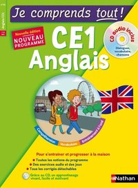 Je comprends tout ! anglais ce1 + cd audio inclus