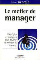 Olivier GEORGIN - Le métier de manager