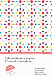 De l'innovation technologique à l'innovation managériale