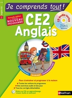 Je comprends tout ! anglais ce2 + cd audio