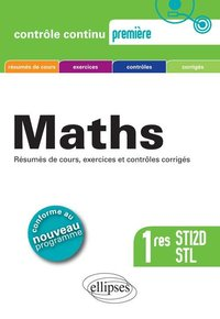 Maths - 1res STI2D, STL