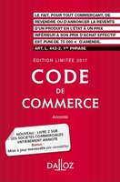 Code de commerce 2017 annoté