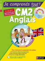 Je comprends tout ! anglais cm2 + cd audio
