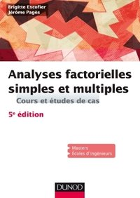 Analyses factorielles simples et multiples