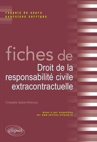 Fiches De Droit De La Responsabilite Civile Extracontractuelle C