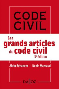 Les grands articles du code civil