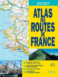 Atlas des routes de France - 2020