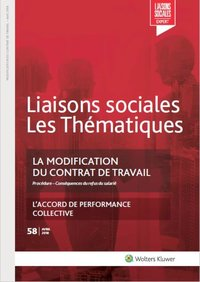 La modification du contrat de travail