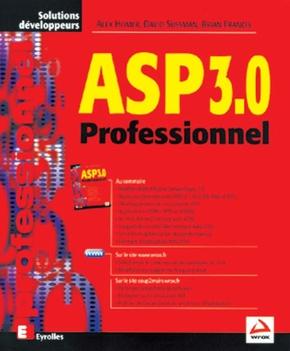 Alex Homer, David Sussman, Brian Francis- ASP 3.0 Professionnel