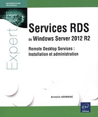 Services RDS de Windows Server 2012 R2