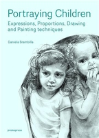 Portraying children - expressions, proportions, drawing and painting techniques