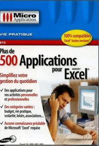Plus de 500 applications pour Excel