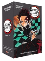 Coffret demon slayer t01 à t03
