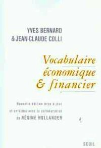 Vocabulaire écomique et financier
