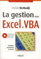 Chelali Herbadji - La gestion sous Excel et VBA