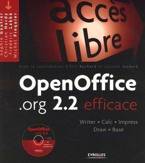 Sophie Gautier, Christian Hardy, Frédéric Labbé, Michel Pinquier- OpenOffice.org 2.2 efficace