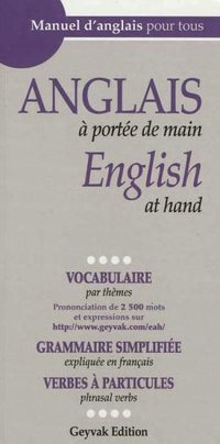 Anglais à portée de main - English at hand