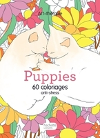 ART-THERAPIE ; puppies ; 60 coloriages