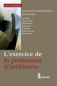 L'exercice de la profession d'architecte