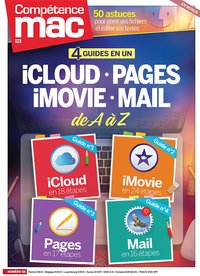 4 guides en 1 : iCloud, Pages, iMovie et Mail