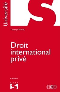 Droit international privé - 4e ed.