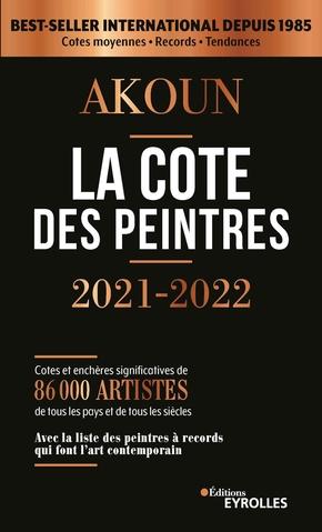 J.-A.Akoun- La cote des peintres 2021-2022