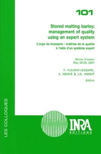Stored malting barley : management of quality using an expert system